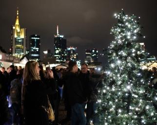 Christmas Skyline